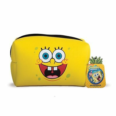 SpongeBob Squarepants Toiletry Wash Bag - Kids Holiday