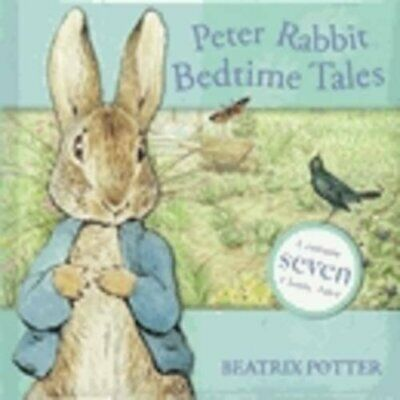 Peter Rabbit Bedtime Tales by Potter, Beatrix Hardback Book The Cheap Fast Free