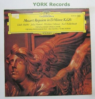 DG 2530 143 - MOZART - Requiem In D Minor BOHM Vienna Phil Orch - Ex LP Record