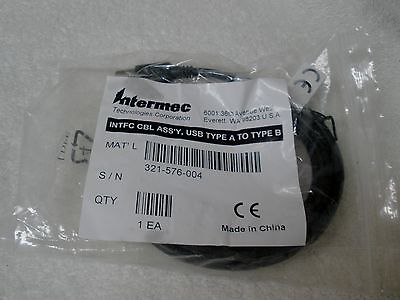 Intermec Technologies new 321-576-004 USB Cable type USB-A to USB-B