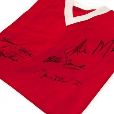 Manchester United F.C. 1958 Busby Babes Signed Shirt