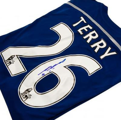Chelsea F.C. Terry Signed Shirt