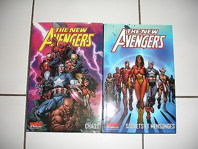 marvel deluxe the new avengers tome 1 et 2