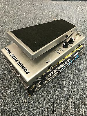 Morley Cliff Burton Tribute Power Fuzz Wah Pedal  Bass Players look!  New!