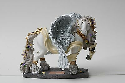 Horse of a Different Color   Guardian Angel 20340 Resin Clydesdale Figurine