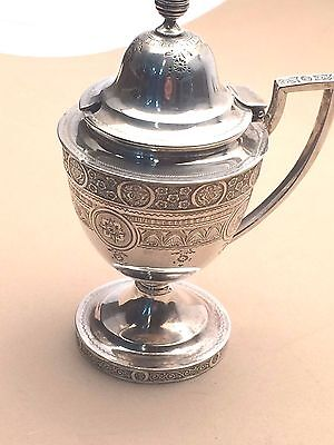Tiffany & Co Small Sterling Silver Mustard or Jam pot