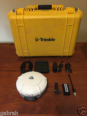 Trimble R8 Model 3 Gnss Glonass Gps Receiver Uhf Transmit 430-450 Mhz Surveying