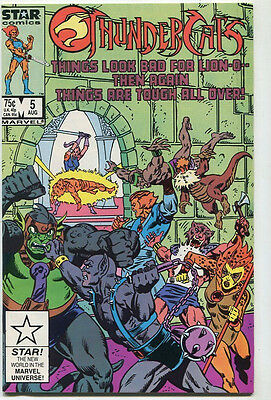 Thundercats #5 NM  Things Look Bad For Lion-O Star Comics-Marvel CBX39B