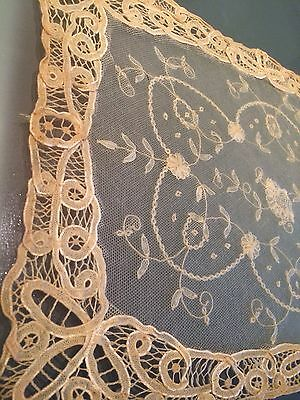 Princess Lace Brussels Doily Runner Table Scarf Antique Chic Vintage Shabby