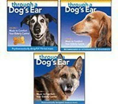 Comfort Your Elderly Canine Series (3 CD set) [Audio CD] Through a Dog's Ear; Va