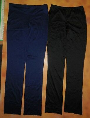 NEW Stovepipe Boys Mens Ballet Pants Navy or Black Spandex Tights Dance Costume