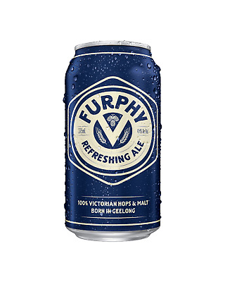 Furphy Refreshing Ale 375mL Can case of 24 Craft Beer