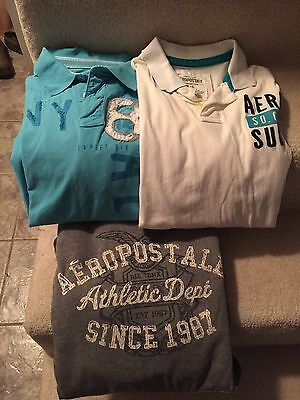 Aeropostale Lot of 3 Men's Size Large