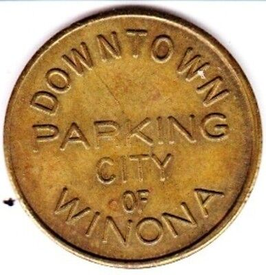 Downtown Winona, Minnesota  Parking Token