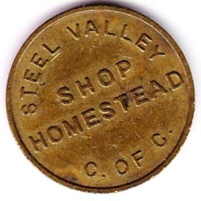 Homestead Steel Valley, PA Chamber of Commerce Parking Token #2