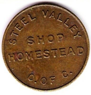 Homestead Steel Valley, PA Chamber of Commerce Parking Token #3
