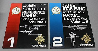 Jackill's Star Trek Ships Of The Fleet Reference Manual Volume 1 & 2