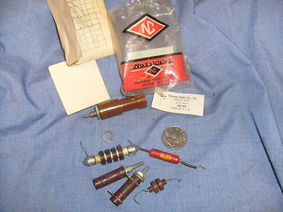 NATIONAL RADIO CO. XR-50 COIL FORM- NEW ORIG PACKAGING RARE VINTAGE + more / A5