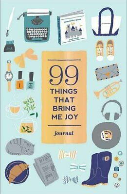 99 Things That Bring Me Joy (Guided Journal) (Journals) by Abrams Noterie Book