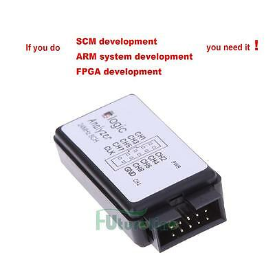 USB Logic Analyzer Device Set USB Wire Cable 24MHz 8CH 24MHz for ARM FPGA M100