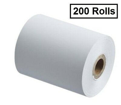 200 57mm x 30mm Eftpos Thermal Paper Rolls $145.00 Free Shipping!