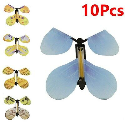 10Pc Transform Flying Butterfly Cocoon into a Butterfly Magician Trick Magic Toy