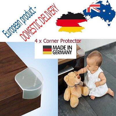 CORNER PROTECTOR x4 Edge QUALITY Table Baby Safety Toddler Furniture Child MADE