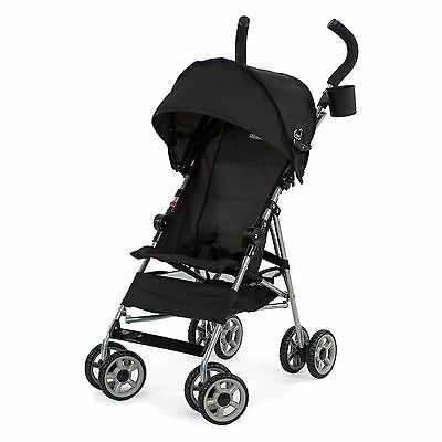 Kolcraft Cloud Umbrella Stroller Single Baby Seat w/3 Point Safety Harness BLACK