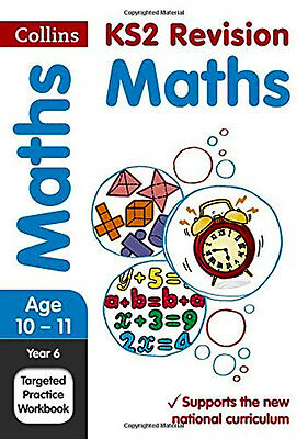 Year 6 Maths SATs Targeted Practice Workbook Fast And Free Delivery Brand New