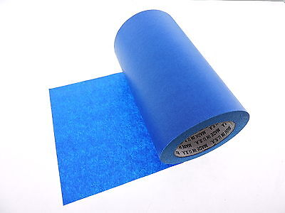 """1x 8"""" inch WIDE 3D Printing Print Bed Easy Removal Blue Painters Masking Tape"""