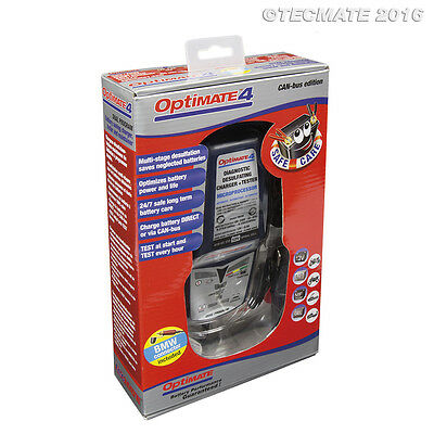 Optimate 4 BMW / Ducati Battery Charger Can Bus Lead included 2020 Model (New)