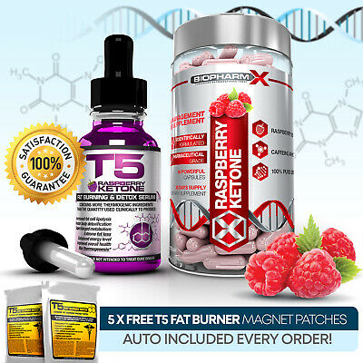 Raspberry Ketone Serum & Capsules - Strongest Slimming /diet & Weight Loss Pills