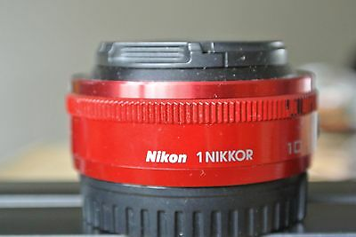 Nikon 10mm f/2.8 AF Lens in Red