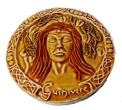 Wade Camelot Prototype Wall Plaque - Guinivere