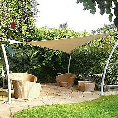 30' x 40' x 50' Triangle Awning Sun Shade Sail Fabric Patio Outdoor Canopy Cover