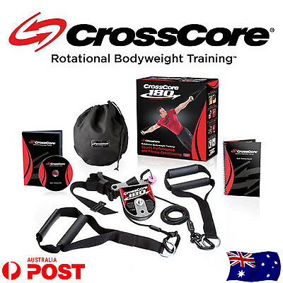 CrossCore 180 Complete Rotational Bodyweight Training Trainer Home Gym Train