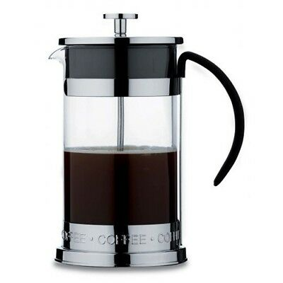 Grunwerg Cafe Ole Nuvo Cafetiere 3 & 8 Cup Stainless Steel French Press