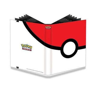 Ultra Pro - Pokeball Pokemon Portfolio Folder Binder Album 9 Pocket Pages