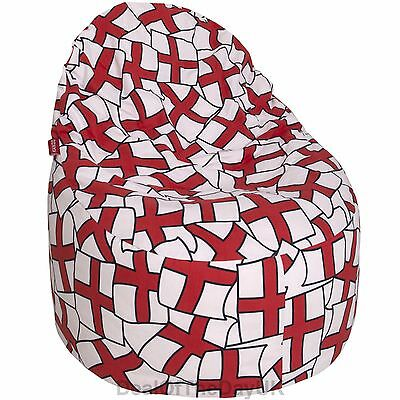 Adult Or Child Bean Bag Chair Large Gaming England Football St George Cross Flag
