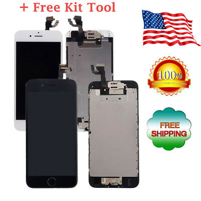 LCD Display+Touch Screen Digitizer Full Assembly Replacement for iPhone 6 6S