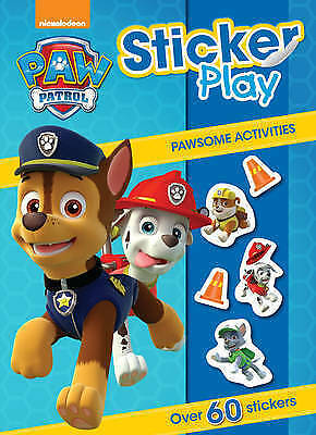 Paw Patrol Sticker Book, Pawsome Activities, New, 60+ Stickers
