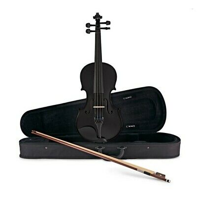 Student Full Size Violin Black by Gear4music