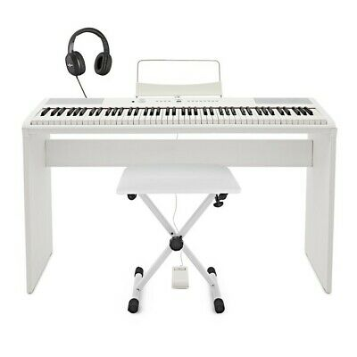 SDP-2 Stage Piano by Gear4music + Complete Pack White