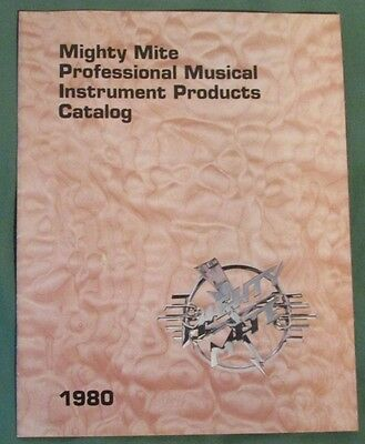 1980 Mighty Mite Professional Musical Instrument Products Catalog