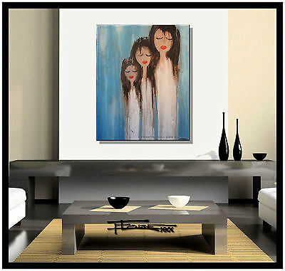 ABSTRACT CANVAS PAINTING MODERN WALL ART.....ELOISExxx