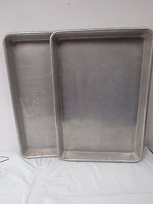 2 Wear-Ever® Bake & Roast Pans Commericial Bakery 5312 Capacity 23.5 x15.5 1625K