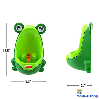 Frog Potty Training Toilet Urinal Portable For Baby Toddler Boys Kids Children