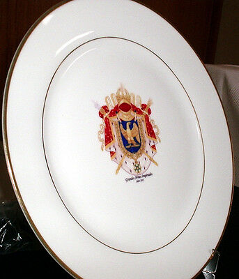 Napoleon *Napoleonic Wars* Coat of Arms of France 1804-1815 CERAMIC DISH
