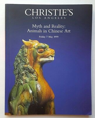 Auction Catalog Christie's Los Angeles Animals & Chinese Art May 7 1999