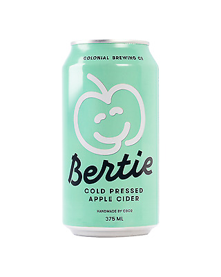 Colonial Brewing Co. Bertie Apple Cider Cans 375mL case of 24